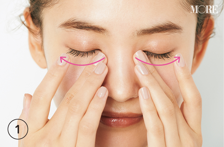 【目もとのシワケア①アイクリームの正しい塗り方】透明感のある目もとを育てるなら20代が始め時! 3年後に差が出る予防ケア_1