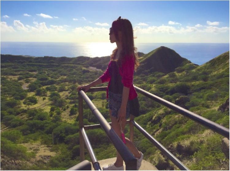 【TRIP】ハワイにきたら、やっぱり行くよね:)ダイヤモンドヘッド@プチプラコーデハイキング_1
