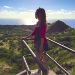 【TRIP】ハワイにきたら、やっぱり行くよね:)ダイヤモンドヘッド@プチプラコーデハイキング