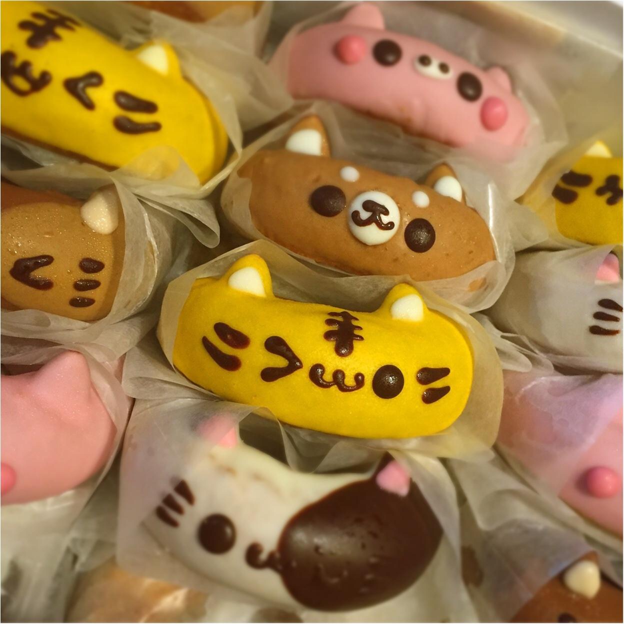 かわいすぎて食べられない♡イクミママのどうぶつドーナツ☆_3