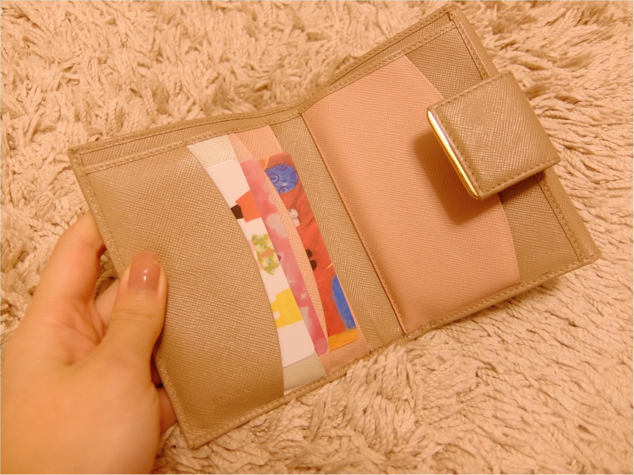 愛用財布は【PRADA】♡二つ折り派さん必見の≪カード収納術≫も紹介!_4