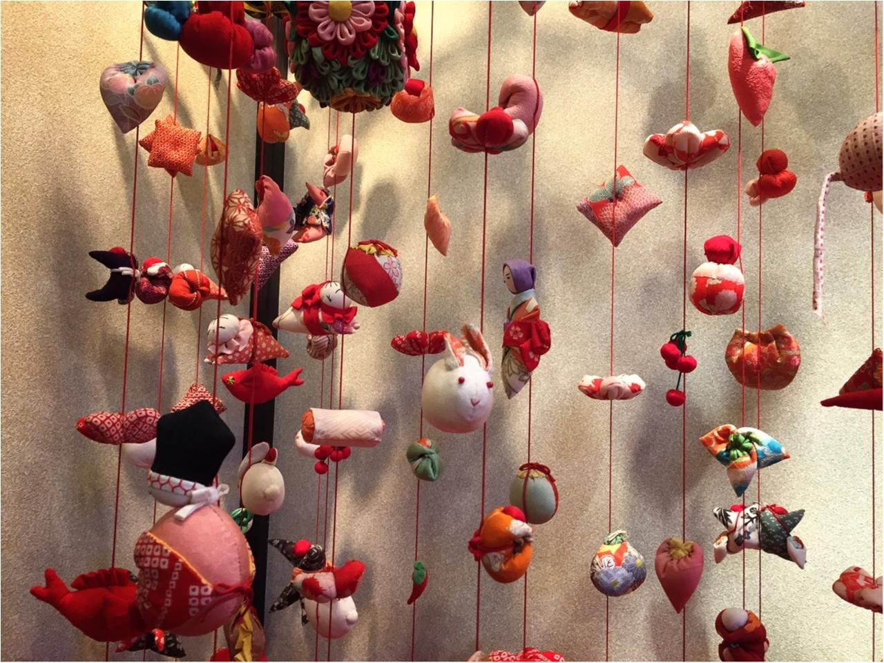 この時期ならではの感動と迫力を!伊豆稲取温泉の『雛のつるし飾り』を見てきました♡*_3