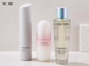 『ランコム』『アユーラ』『ディセンシア』の化粧水が入賞♡ 寝不足やマスク疲れの肌に、頼れる名品を【2020上半期MOREベストコスメ】