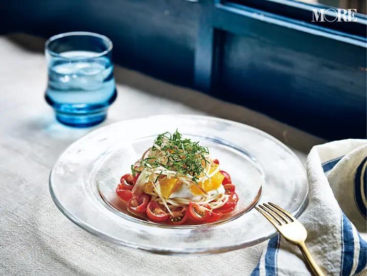 【鳥羽シェフレシピ】1. 涼しくて美味しい「冷製カッペリーニ」