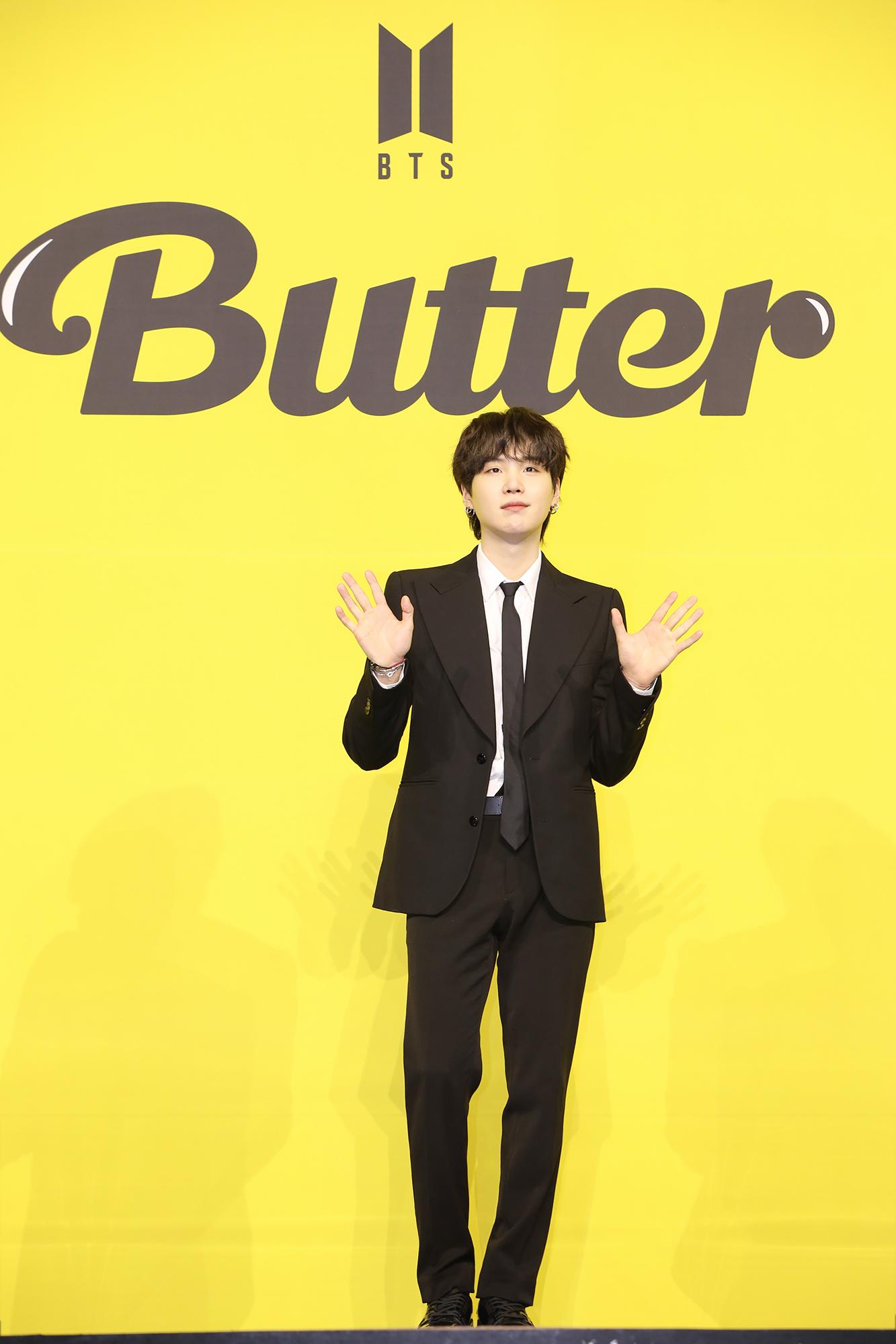 "【BTS 会見写真16枚!】""お気に入りは自分のパート""合戦勃発!? 「Butter」発売記念 グローバル記者会見 PhotoGallery_1_14"