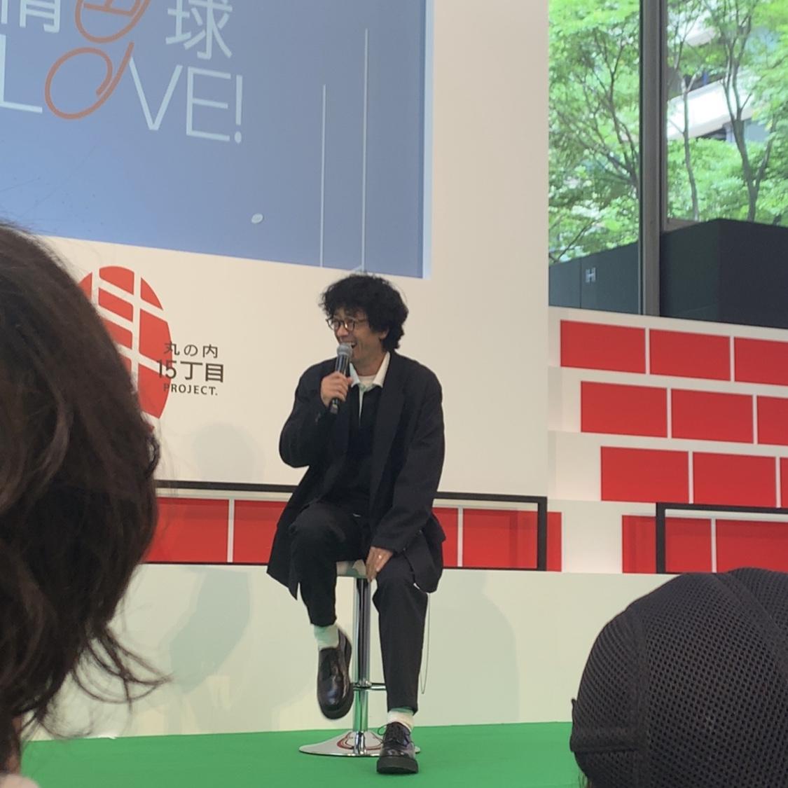 《滝藤賢一さん・だーりおちゃん登場》楕円球LOVE!の創刊発表会に参加してきました♡_3