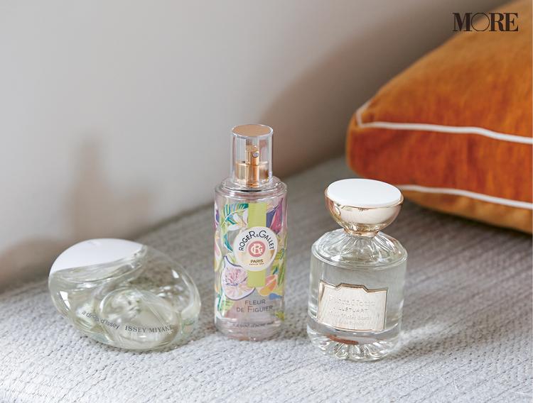 ジルスチュアートとロジェ・ガレとイッセイミヤケの香水