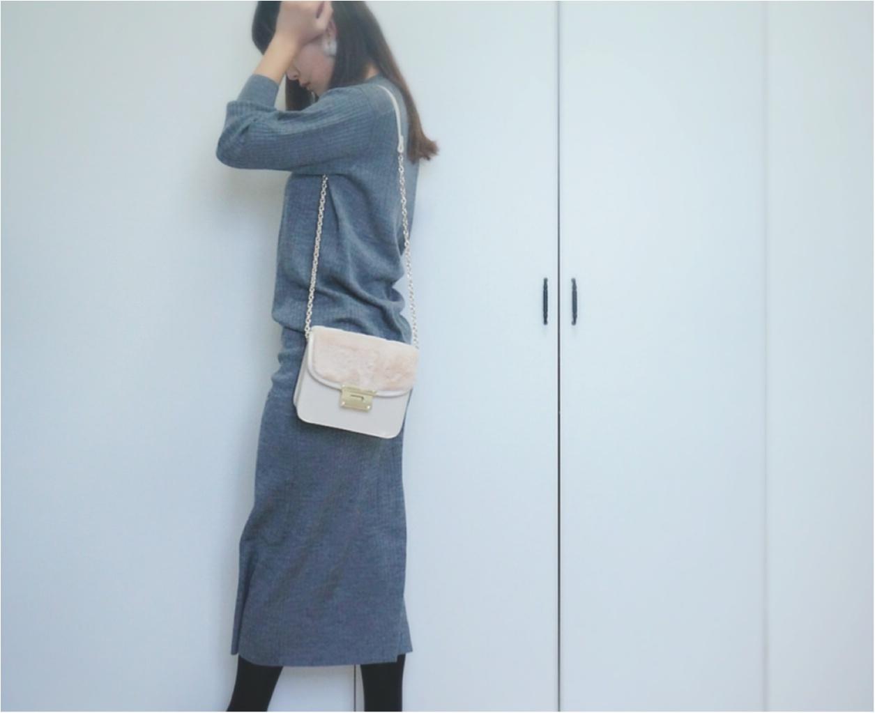 """大大ヒット❤️【UNIQLO】""""メリノブレンドリブスカート""""がついに限定価格に!今なら¥3980で叶う《ニットアップ》コーデ❤️_5"""