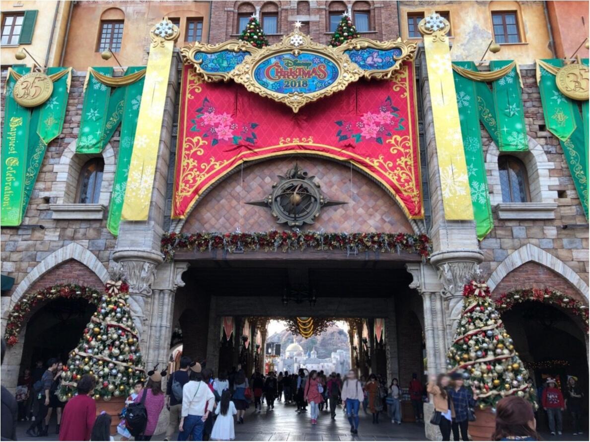 11/8~スタート!TDS【ディズニークリスマス】さっそく行ってきました!_1