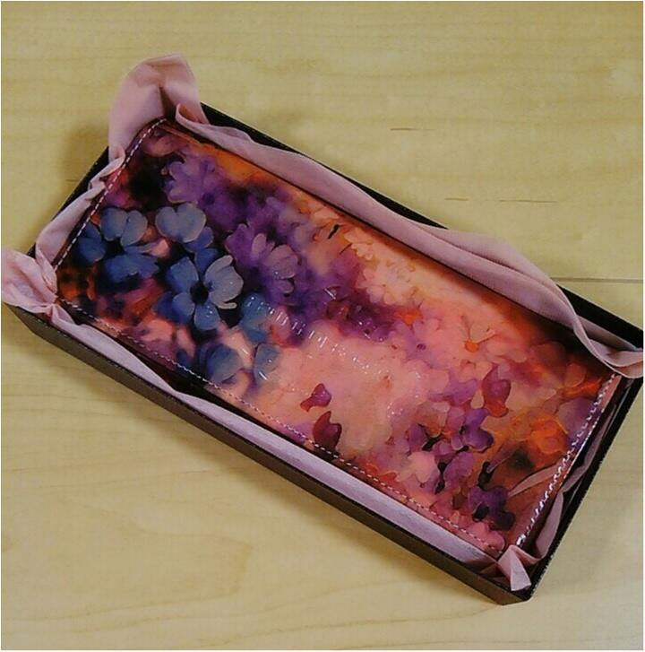 運命のお財布に出逢いました!美しすぎる・・・【ALBA】のウォレット(443 まゆ_1
