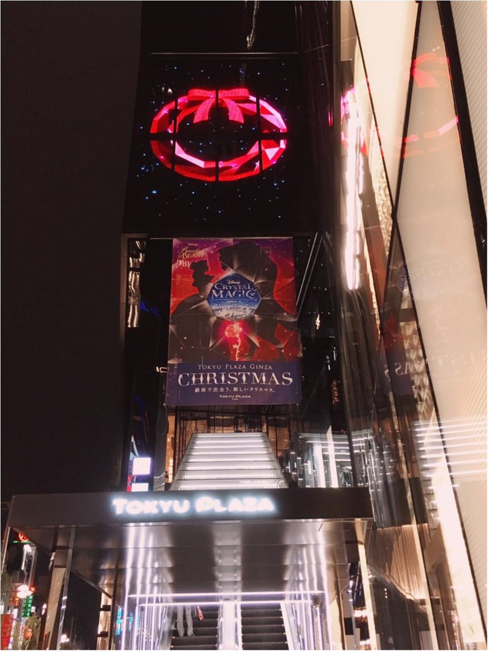 ディズニー映画『美女と野獣』がテーマの 『TOKYU PLAZA GINZA CHRISTMAS 2016』を写真たっぷりでご紹介しちゃいます♡_2