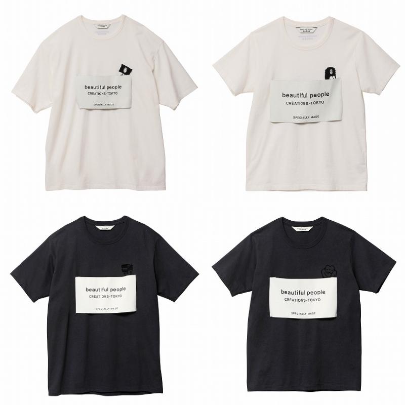 『beautiful people』×『beautiful people feels』コラボTシャツの画像