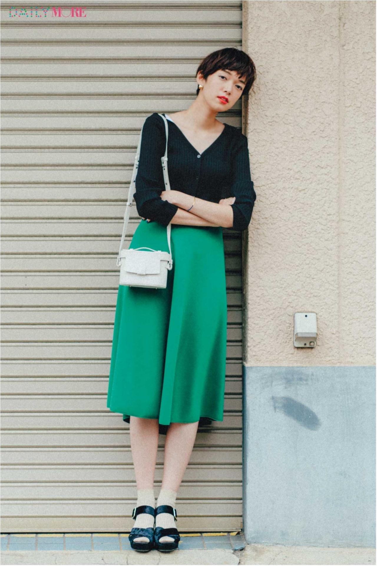 秋コーデを軽やか&華やかに♪ 「フレアスカート」の着こなしまとめ♡_1_2