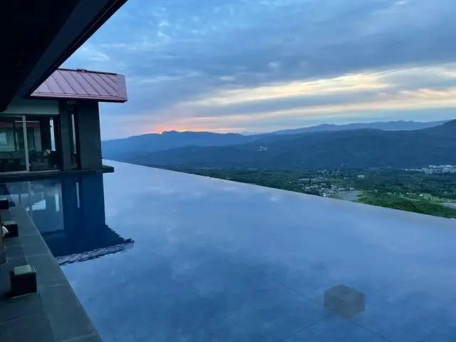 『赤倉観光ホテル』からの眺め