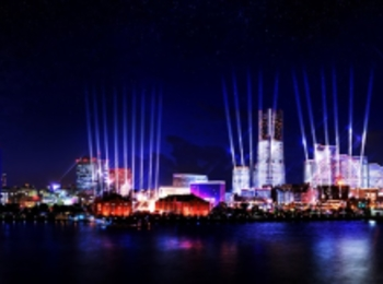 横浜・みなとみらいの期間限定イルミネーションイベント♡ 初開催「ナイト シンク ヨコハマ」を観に行こう!