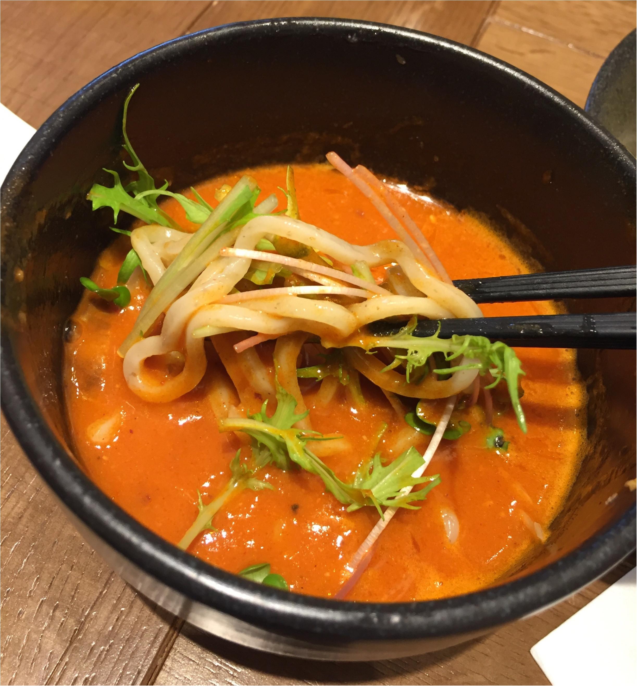 まるでビスクなヘルシー海老つけ麺✨海老鶏麺蔵が堺筋本町にOpen✨_6