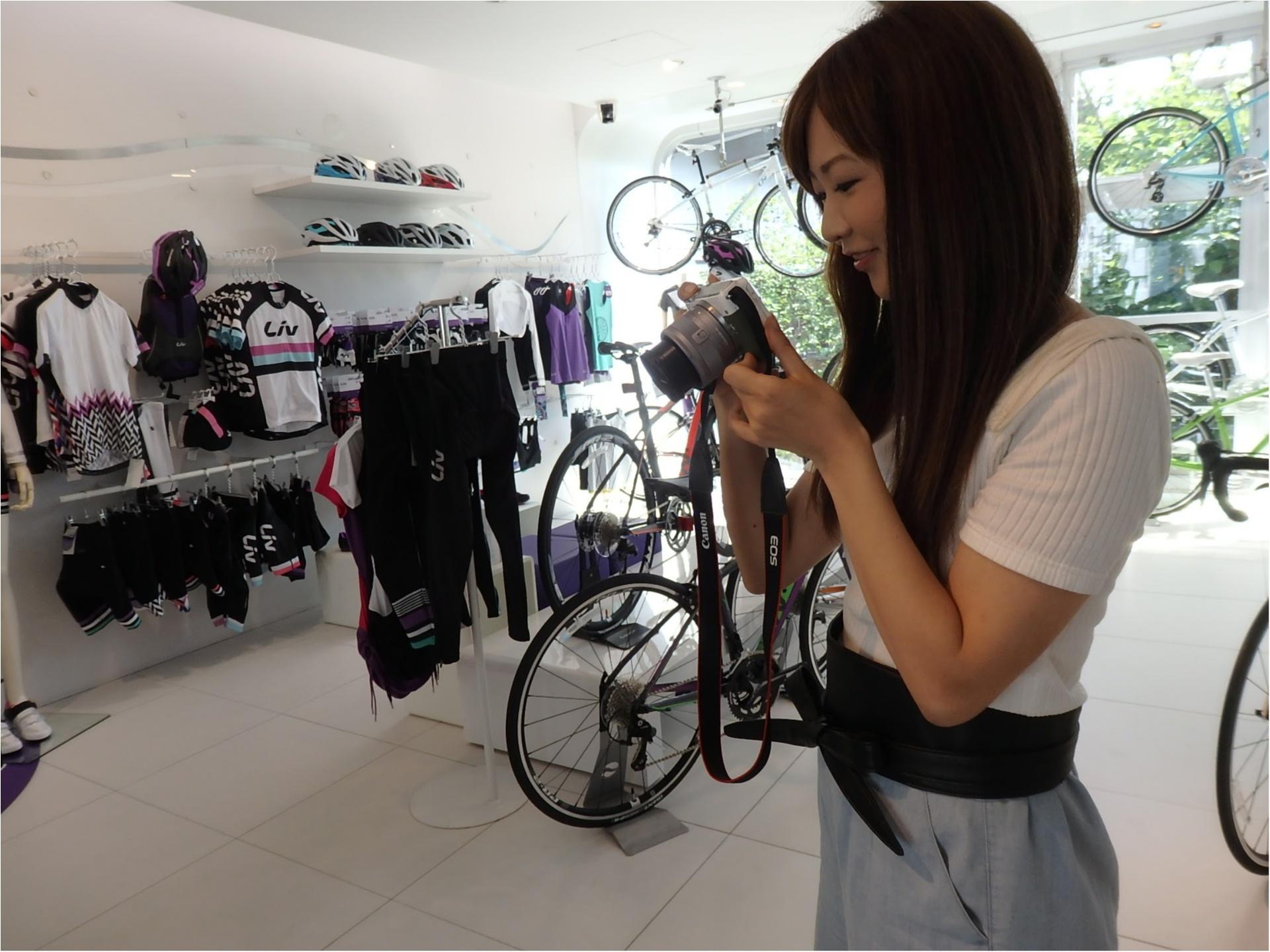 """世界初の女性向け自転車ブランド""""Liv""""でわくわくのウエア合わせ 【#モアチャレ あかね】_4"""