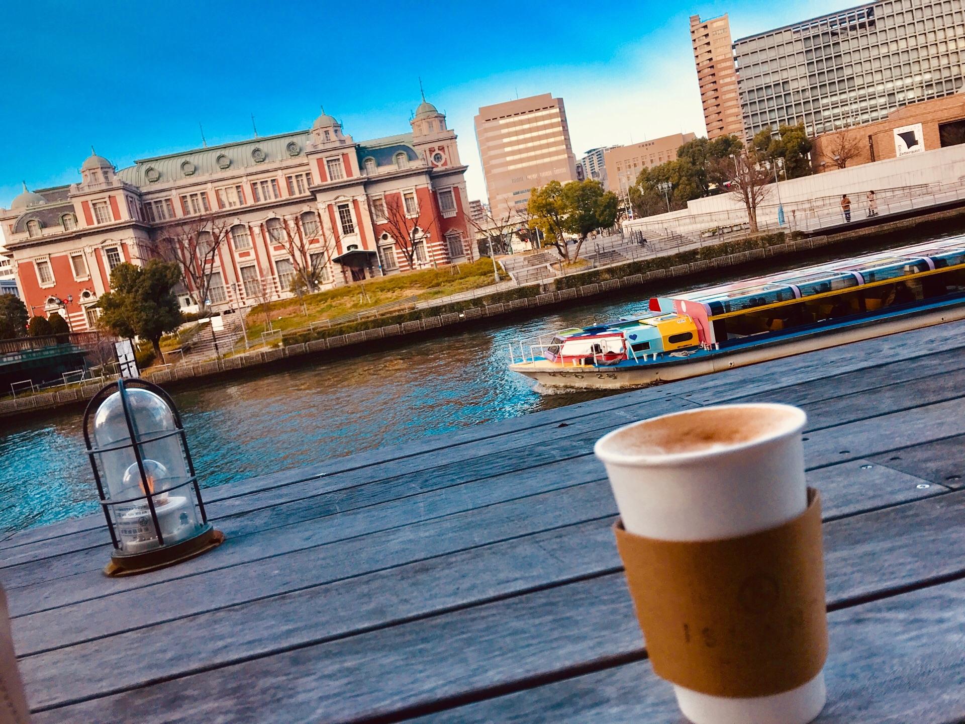 大阪・人気エリア「北浜」の注目カフェ❤︎川沿いでテラスからの眺めが最高なんです♡_1