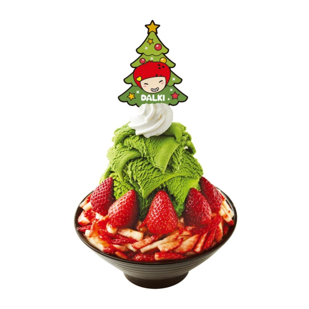 かき氷のクリスマスツリーや〜! 『ソルビン』のクリスマスは大好きないちごが盛りだくさん☆【12/31(日)まで】_1