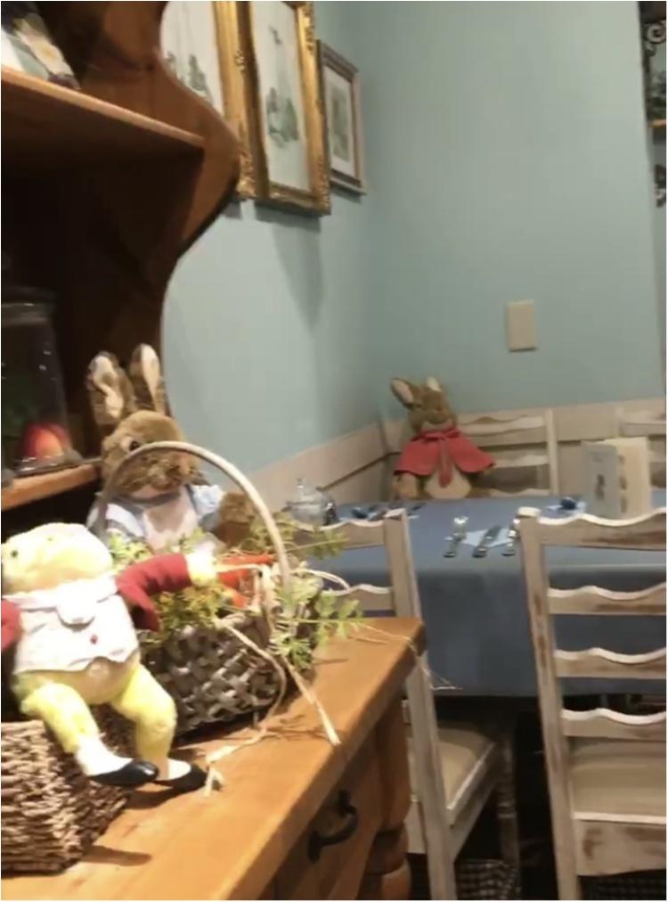 《絵本の世界でディナーを堪能★》イギリスのガーデンカフェで、ピーターラビットと一緒に食事が楽しめちゃいます♡♡_6
