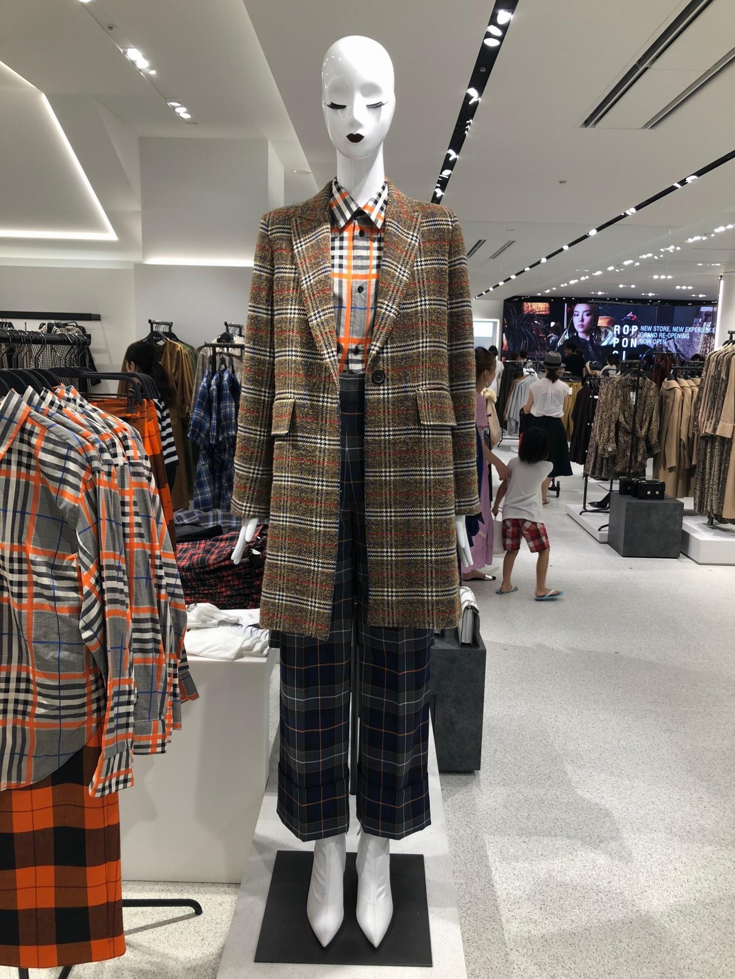 ジャケット,チェック,ZARA,ファッション,秋,2018
