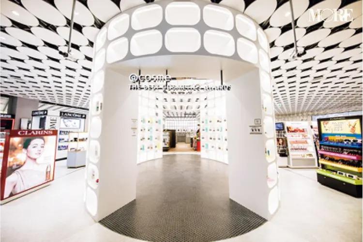 人気ブランドのコスメを揃える@cosme TOKYOの内観
