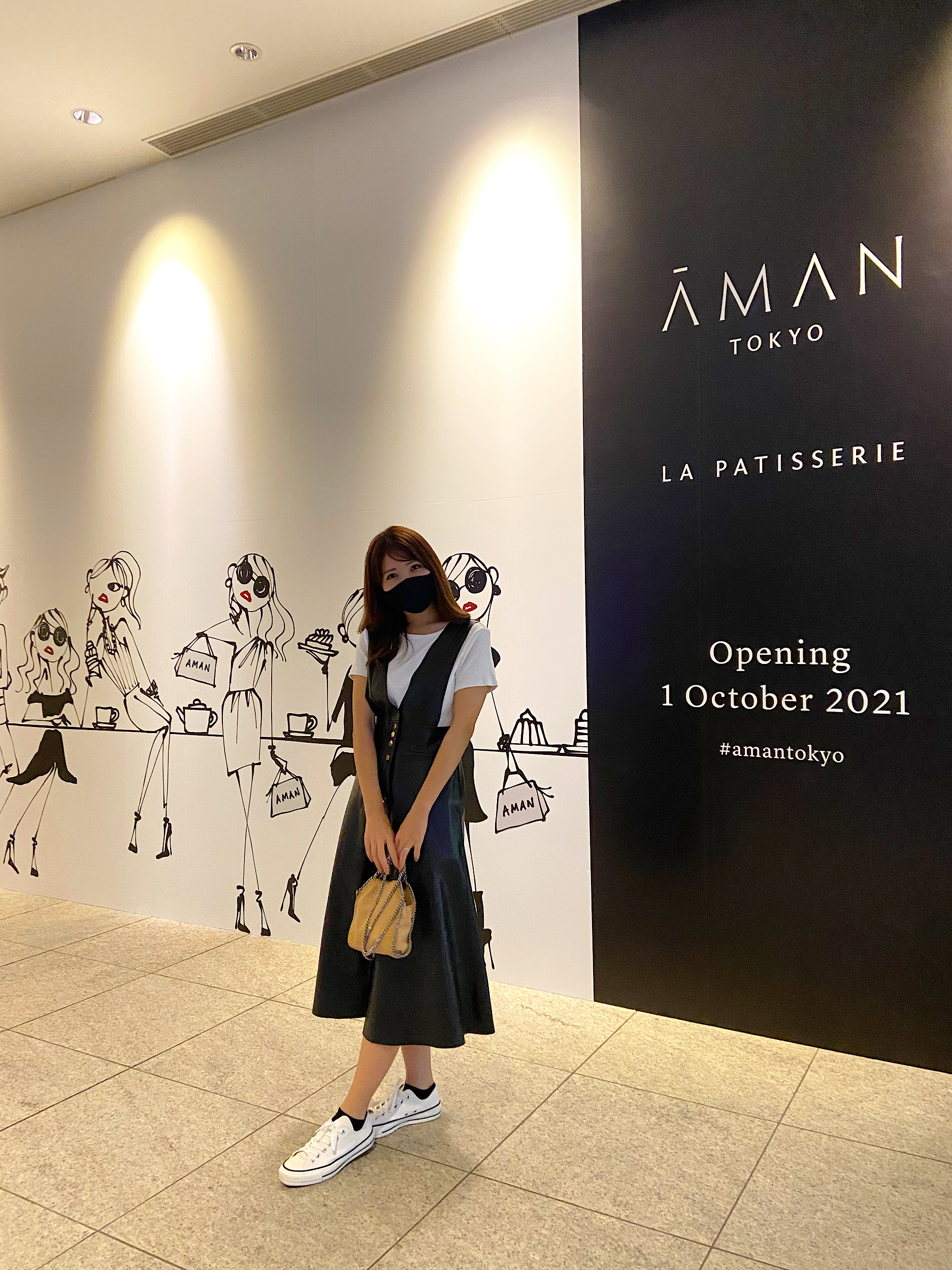 【AMAN東京×三浦大地】オープン前限定の壁が映えると話題に♡_4