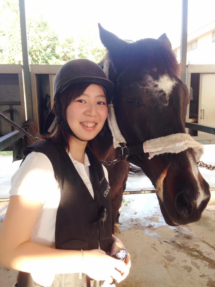 馬にアモーレ!!ステキな週末★都内で乗馬したことありますか?\(//∇//)\_7