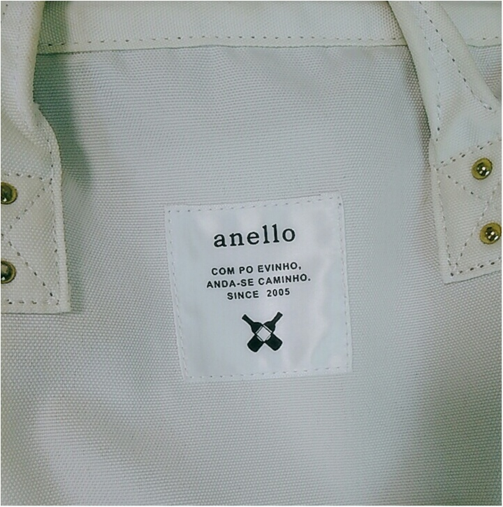 買って良かった!見た目・機能・お値段すべて◎【anello】の白リュックの被り率がすごい!(443 まゆ       _8