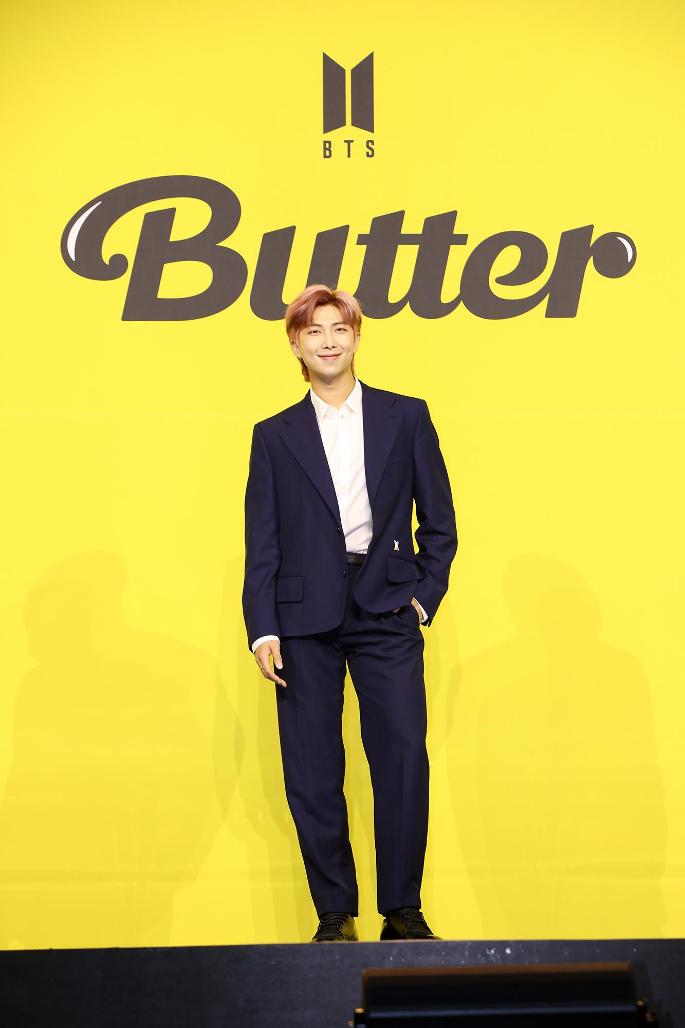 "【BTS 会見写真16枚!】""お気に入りは自分のパート""合戦勃発!? 「Butter」発売記念 グローバル記者会見 PhotoGallery_1_12"