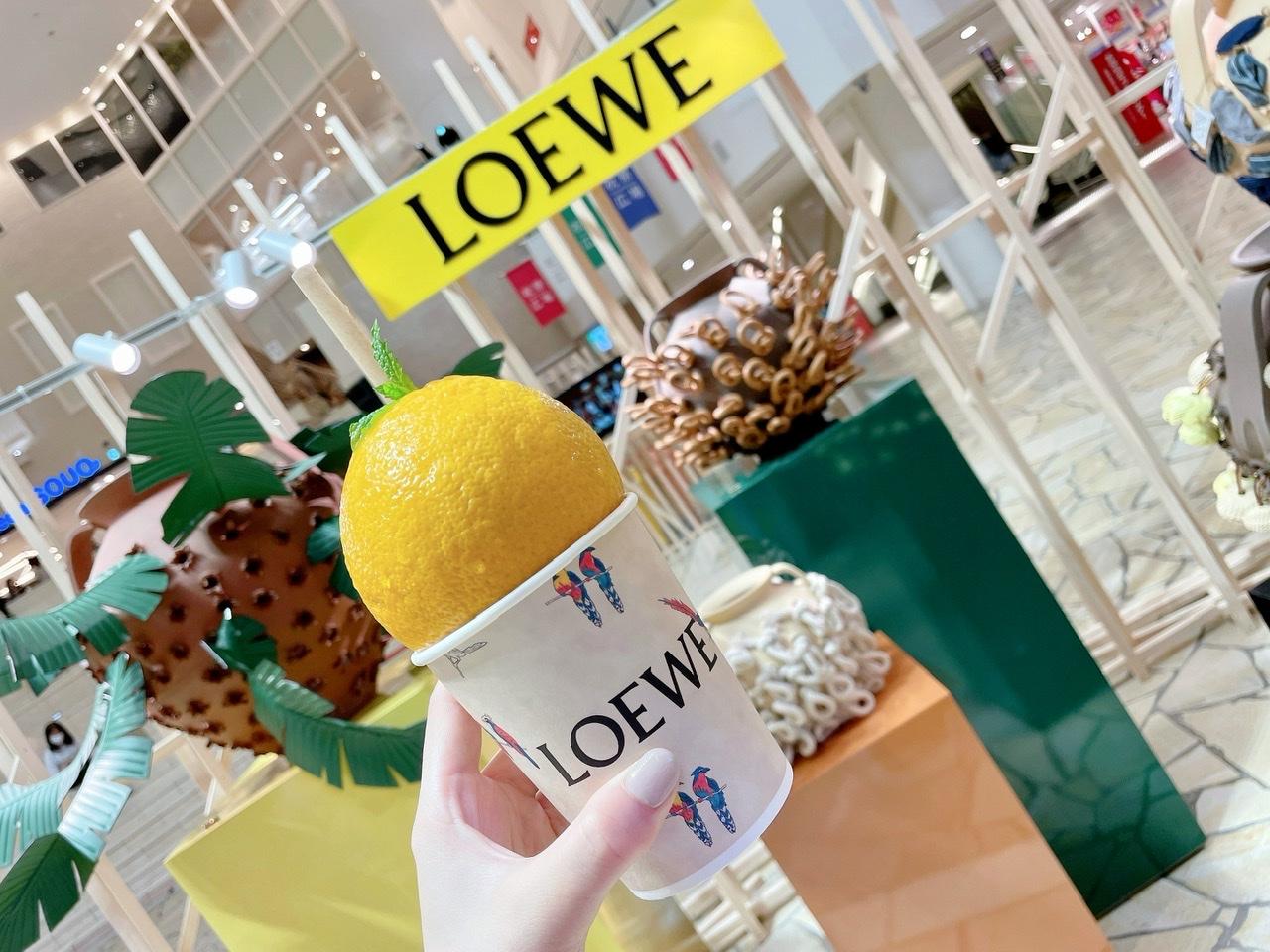 【阪急うめだ】LOEWEのポップアップが最高にかわいい!_1