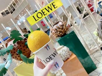 【阪急うめだ】LOEWEのポップアップが最高にかわいい!