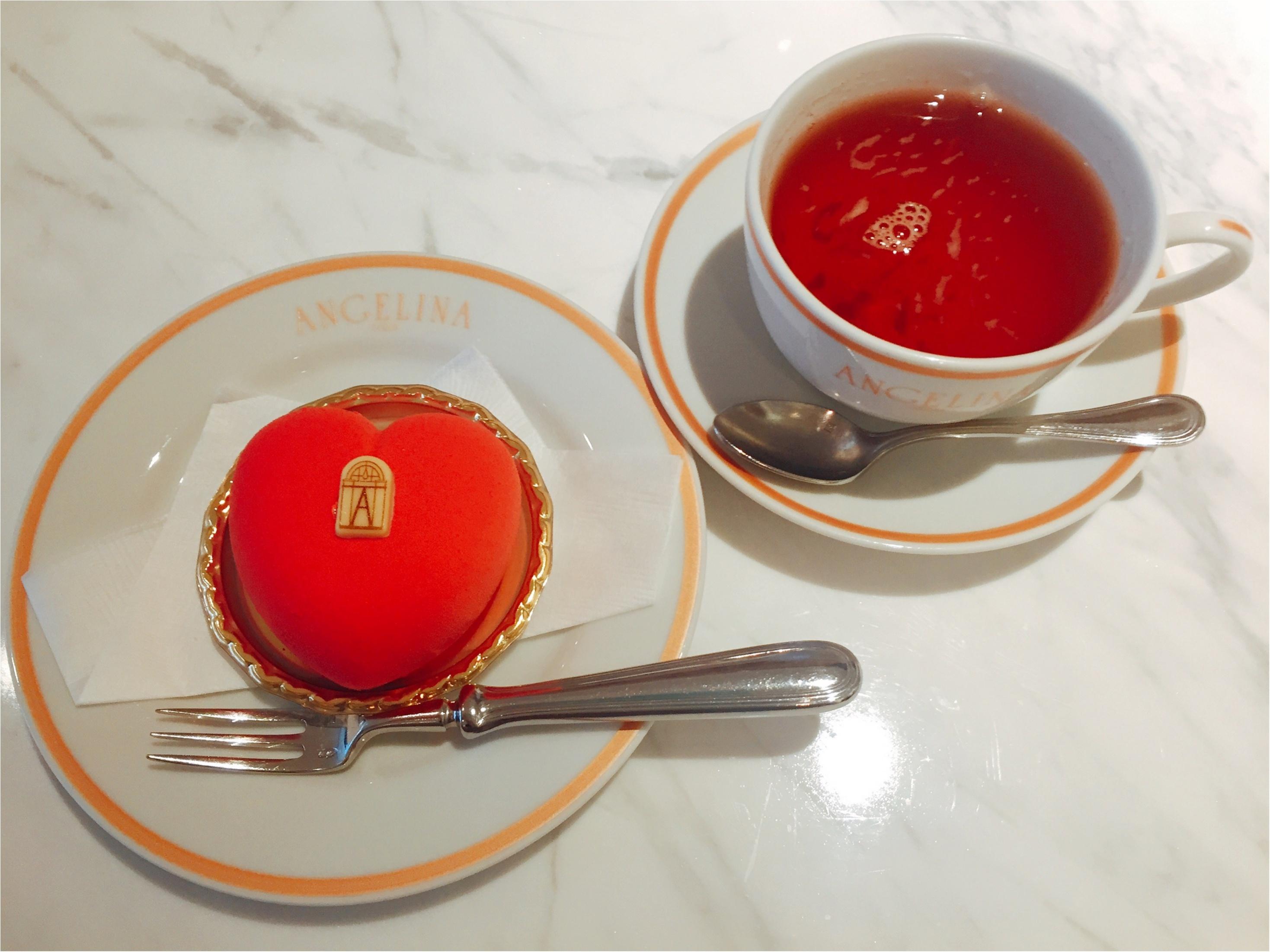 【バレンタイン限定】1903年創業のパリ老舗サロン「ANGELINA」のハート♡ケーキが可愛すぎて食べるのがもったいない!!_6_2