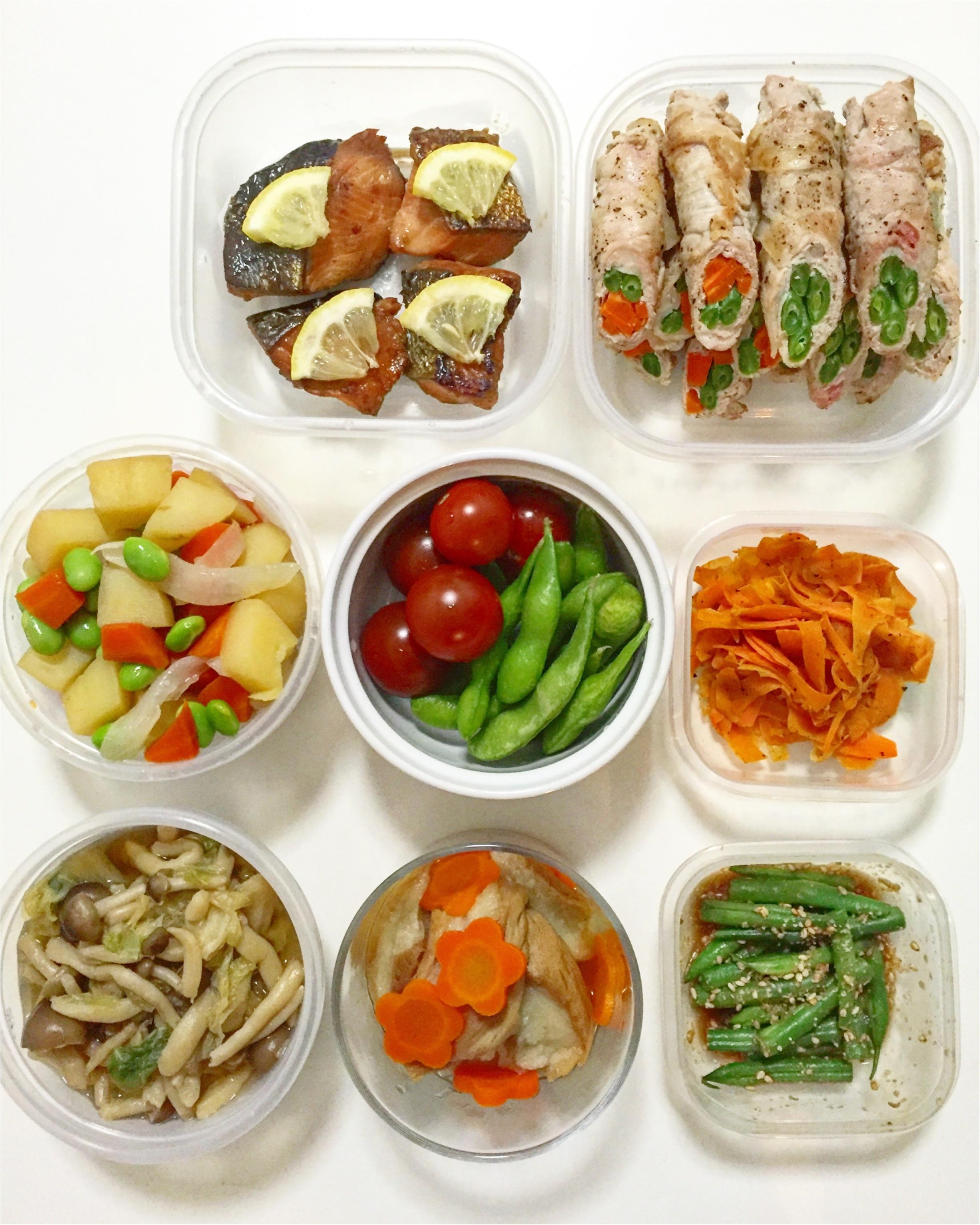 今週のお弁当と常備菜***さっこ_1