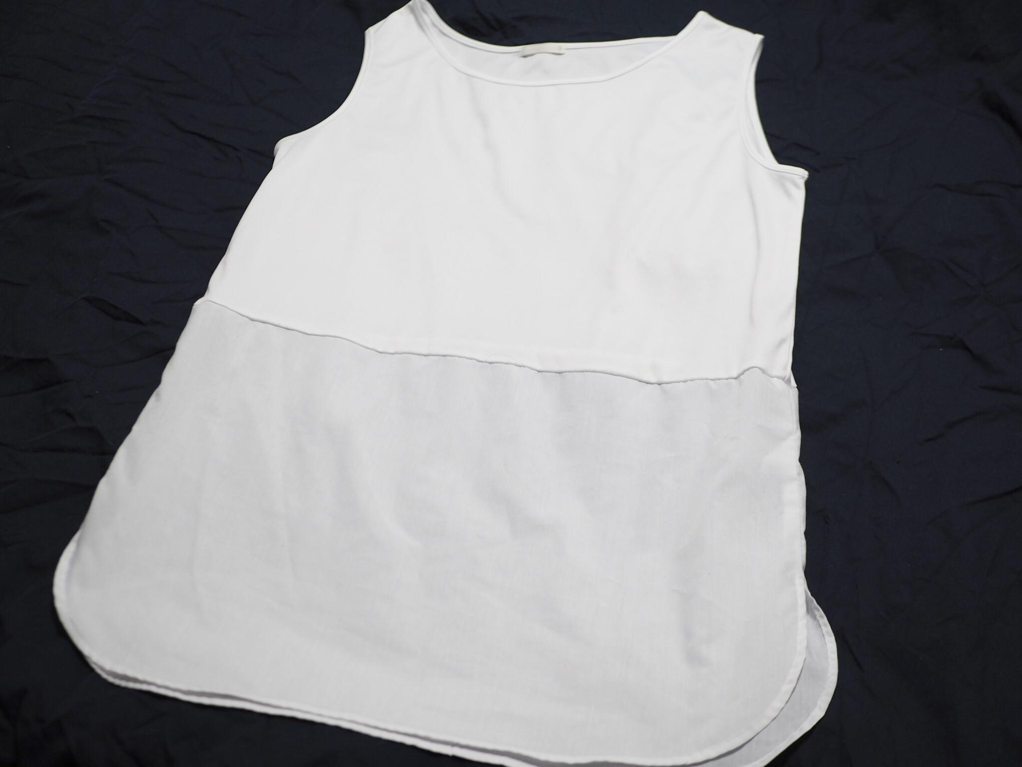【GU】今から春までそれぞれ使える!レイヤードシャツ風タンク&ニット♡_2