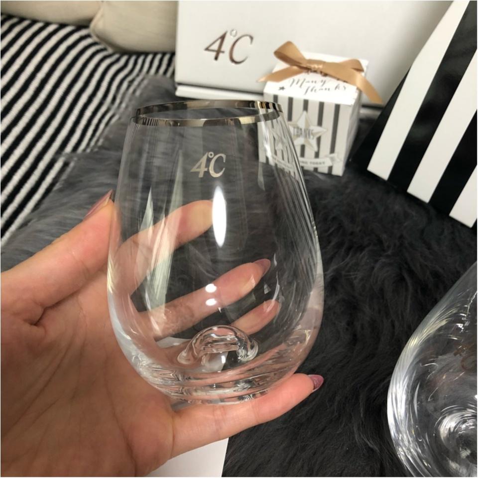 【ブライダルフェア】お得なことがいっぱいなの知ってる??あの有名なアクセサリーブランドのグラスを来店特典でもらっちゃいました♥︎他にも、嬉しいサービスが…♡♡_4