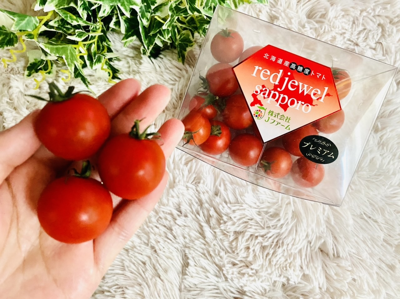 まるでスイーツ!北海道産高糖度トマト《レッドジュエル・プレミアム》が美味しすぎ♡_4