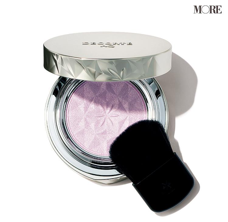 肌がふわっとピンクがかって、マスクをしていてもモテ肌が叶う♡ 透明感と品のあるつやをかなえるラベンダーのチークに注目!!_2