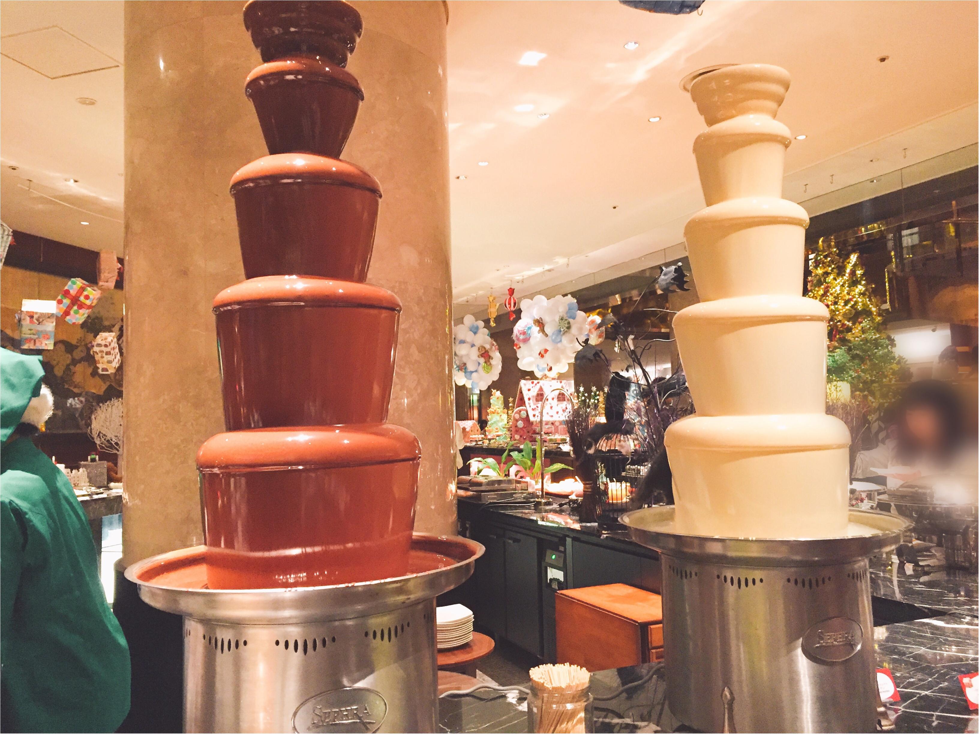 毎回大人気!ヒルトン東京のデザートブッフェ!夢のような『お菓子の家』の世界へ…♡*_8