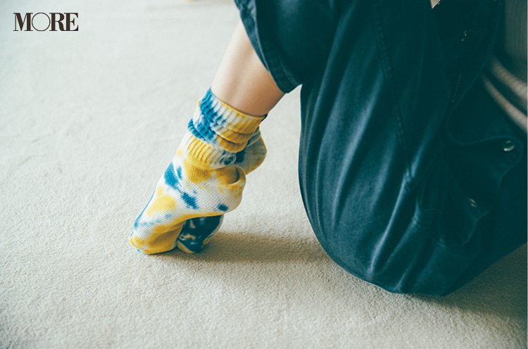"""""""あざと可愛いおうちコーデ""""は、サロペットで作れるっ♡ 女っぽく着るために合わせるべきインナーは?_4"""