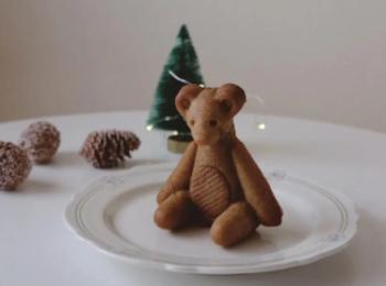 可愛すぎるクマのドーナツを『リトルベアマイスター』でget
