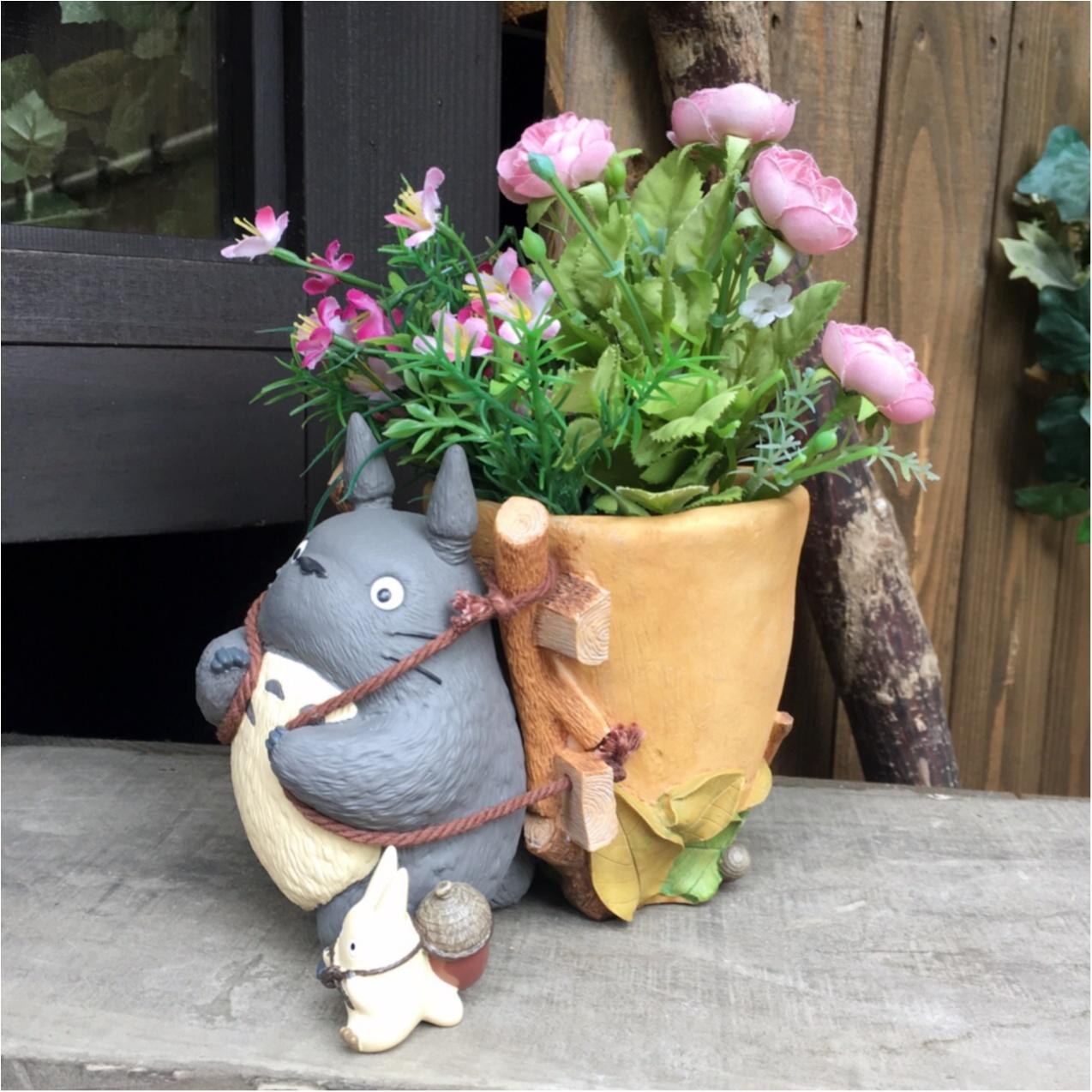 かわいいジブリの世界とお花に癒される…♡_4