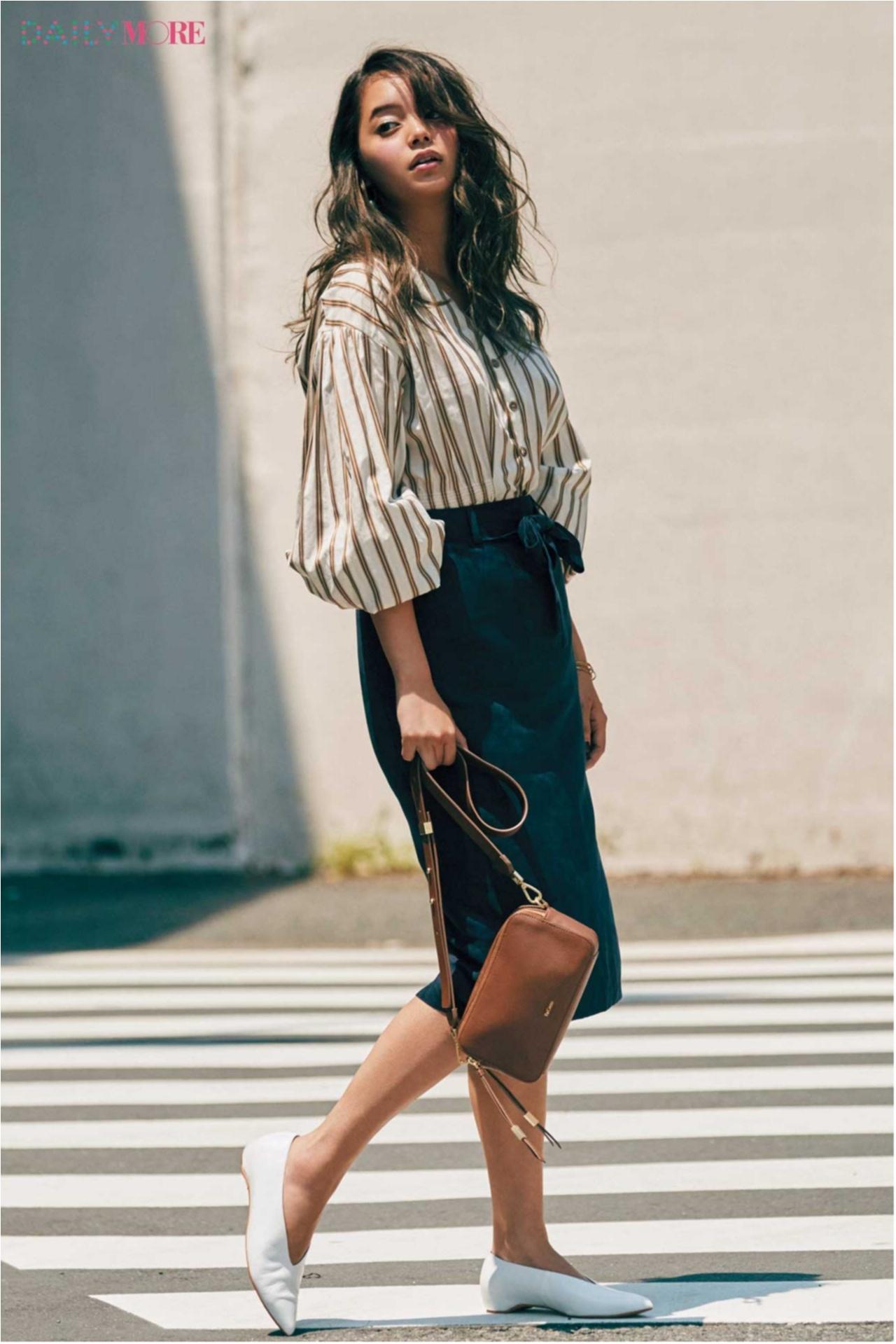 めっちゃ細く見える『GU』のスカート&めっちゃ脚長に見える『リムアーク』のパンツ、スタイルアップテーマが大人気☆ 今週のファッション人気ランキングトップ3!_1_3