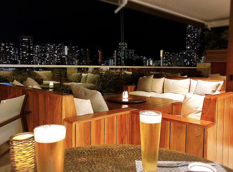 【Hawaii】ハッピーアワーでNYステーキも半額!憧れのラグジュアリーホテルでお得にディナーをいただきました♩_3