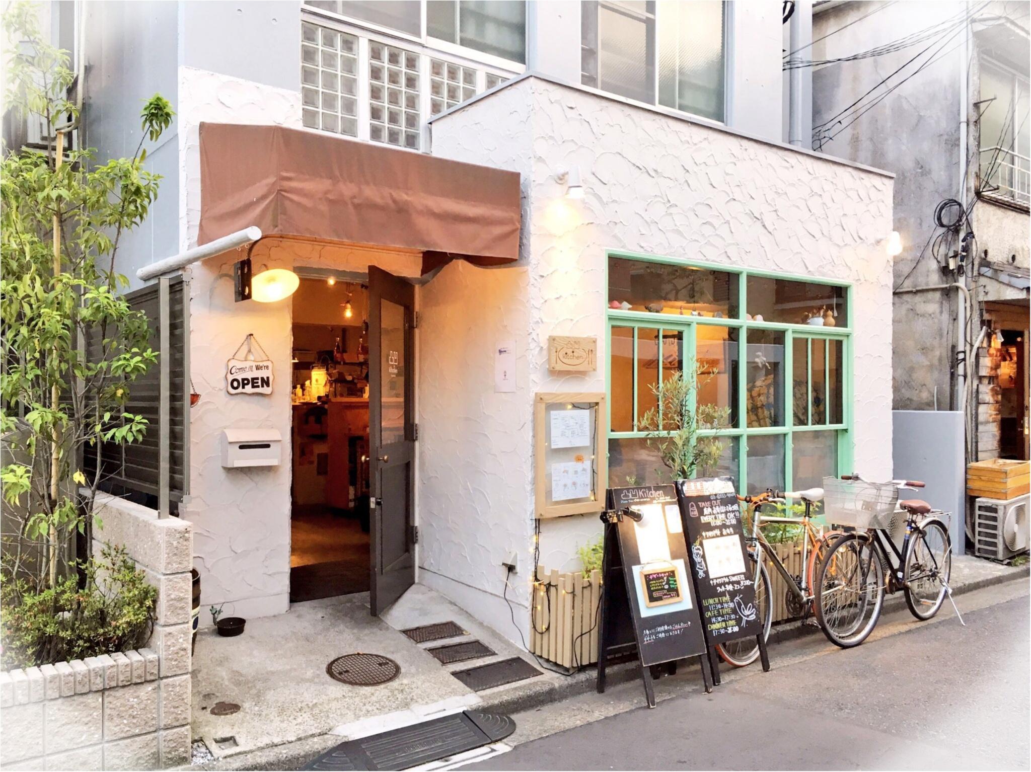 高田馬場の路地裏カフェ『凸凹キッチン』がナチュラルかわいい♡_1