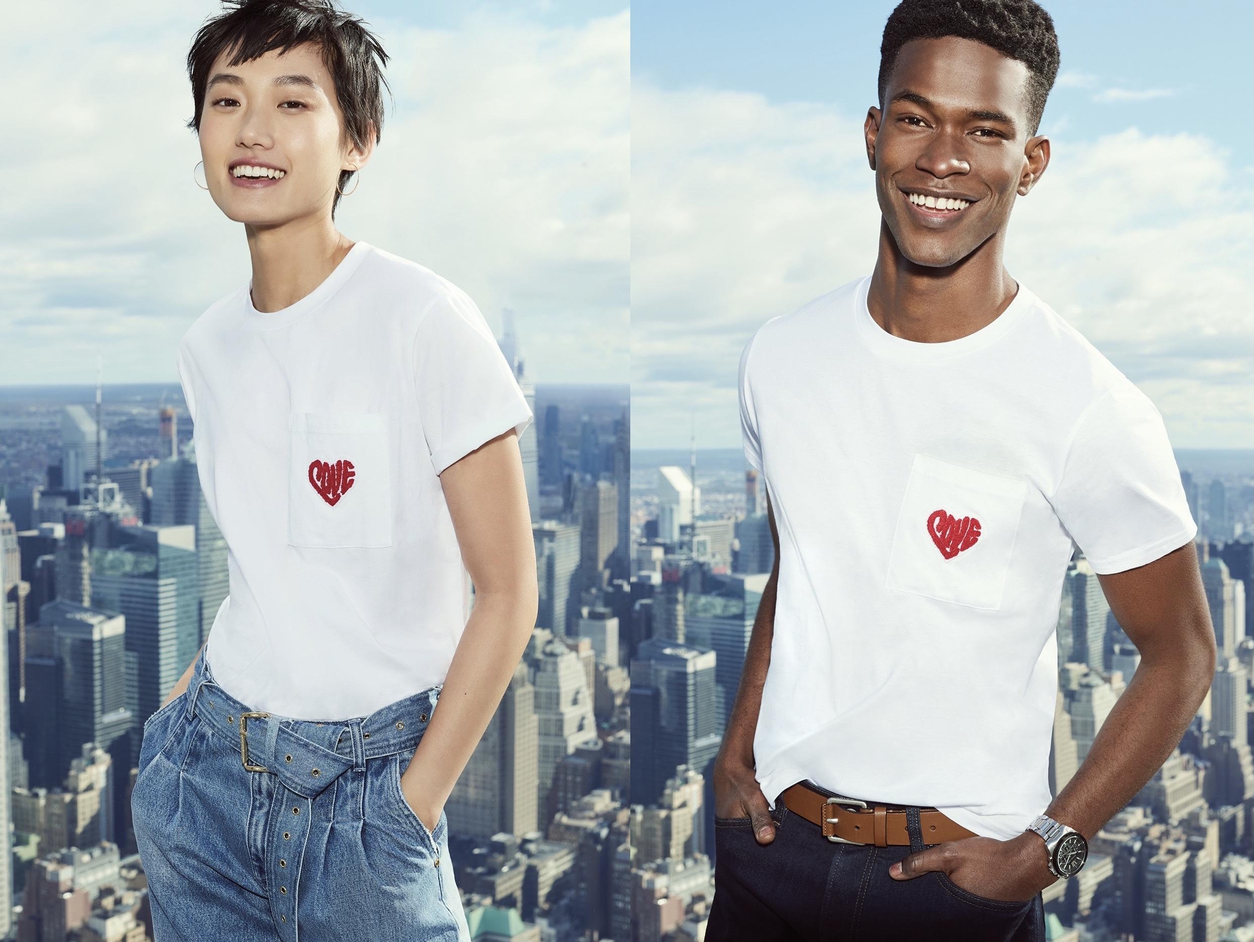 マイケル・コースのバレンタインデーにぴったりなWatch Hunger Stop LOVE Tシャツ