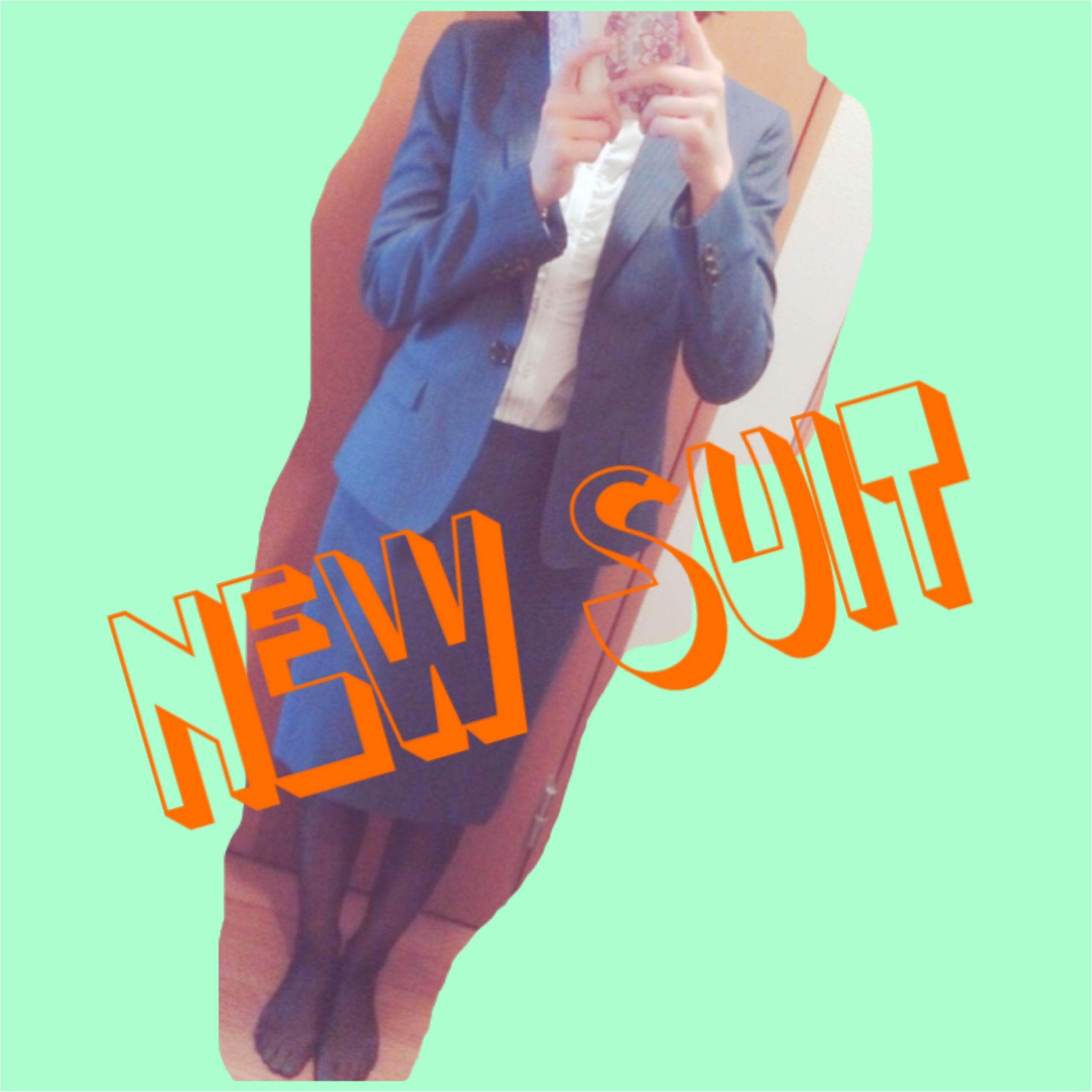 ★おニューのスーツは背筋がシャン!とする★_1