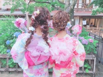 京都で着物・浴衣レンタルなら、人と差がつく可愛さの 『京都祇園屋』と『梨花和服』がおすすめ! シルバーウィークの京都女子旅にも♪