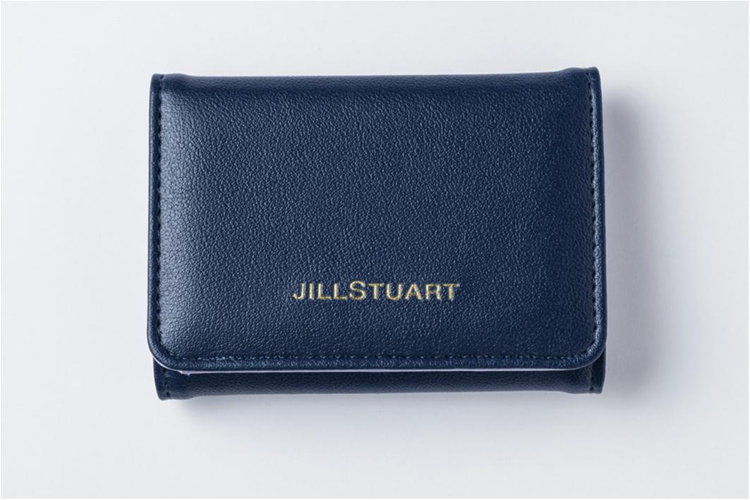 知的なネイビーの財布