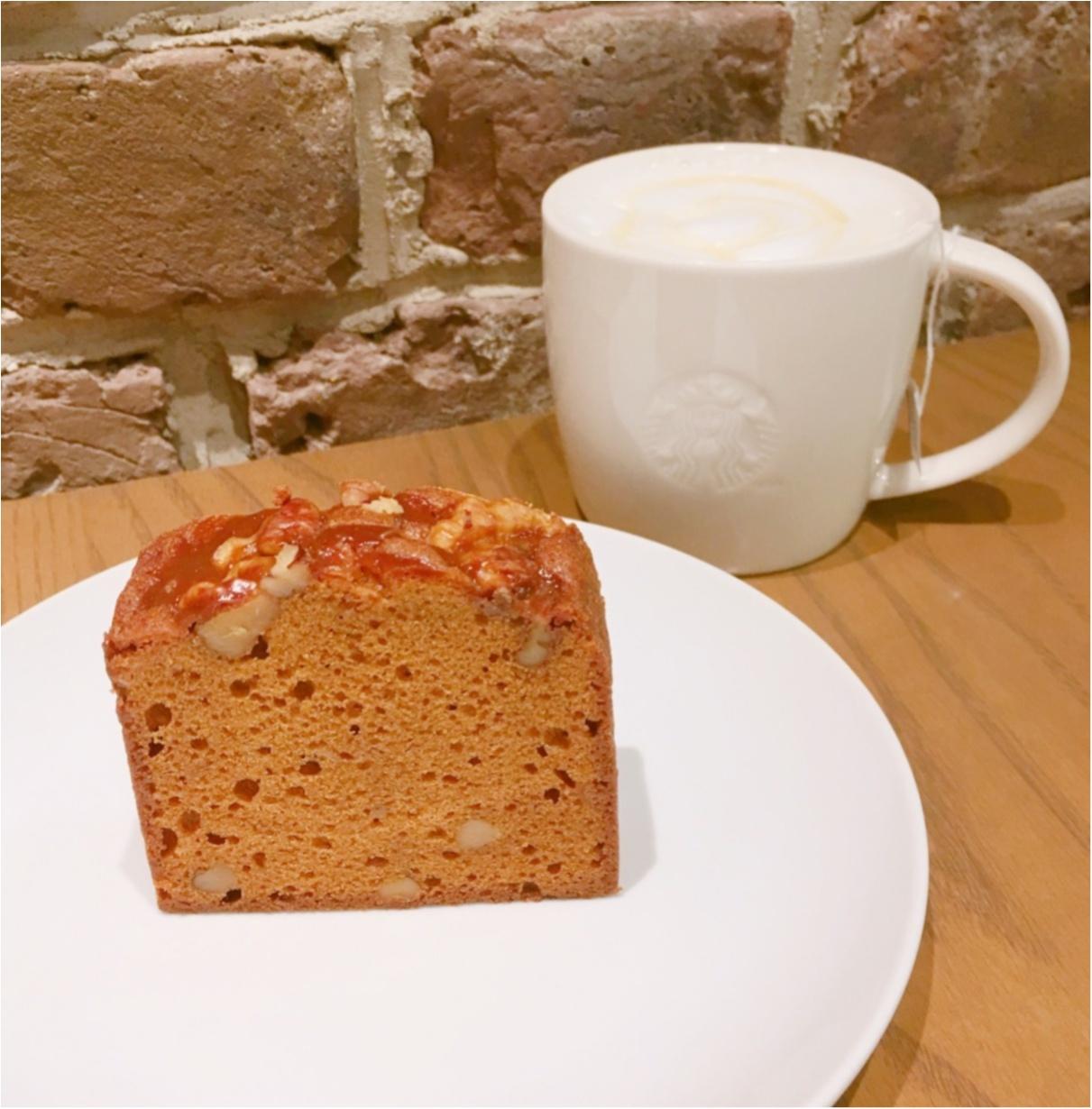 【STAR BUCKS】秋スイーツのおすすめ♡ ほろ苦甘くてクセになる、ケーキキャラメルナッツ♡_1